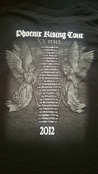 "BEHEMOTH ""Phoenix Rising"" Tour T-Shirt (SIZE 2XL)"