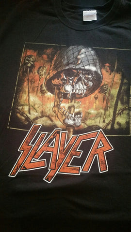 SLAYER Soldier T-Shirt (SIZE 2XL)