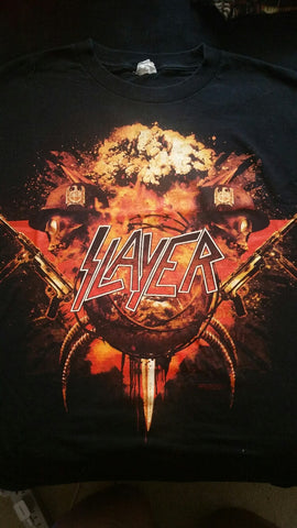 SLAYER World Tour 2010 T-Shirt (SIZE 2XL)