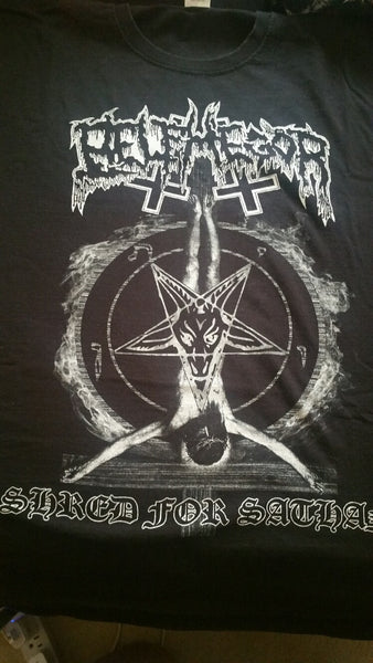 "BELPHEGOR ""Shred for Satan"" T-Shirt (SIZE 2XL)"