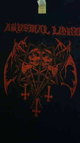 "ABYSMAL LORD ""Storms of Unholy Black Mass"" T-Shirt (SIZE 2XL)"