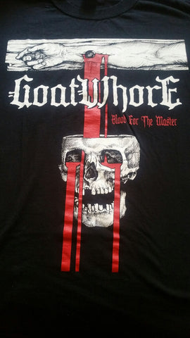 "GOATWHORE ""Blood for the Master"" Official T-Shirt (SIZE 3XL)"