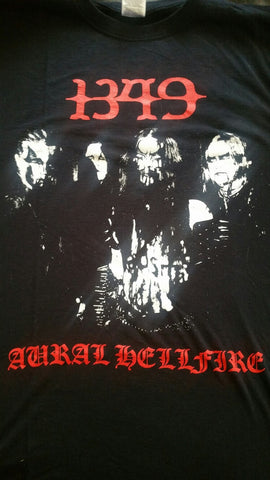 "1349 ""Aural Hellfire"" Official T-Shirt (SIZE 2XL)"