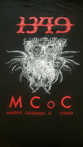 "1349 ""Massive Cauldron of Chaos"" Official T-Shirt (SIZE 3XL)"