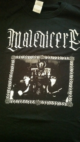 "MALEDICERE ""Drink the Blood of Christ"" T-Shirt (SIZE 3XL)"
