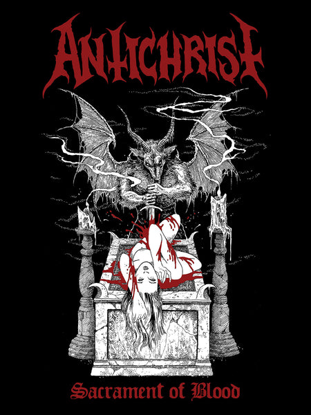 "ANTICHRIST ""Sacrament of Blood"" Official Flag"