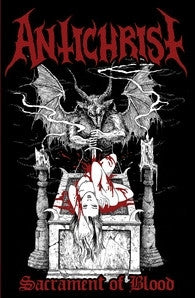 "ANTICHRIST ""Sacrament of Blood"" Pro-Tape WITH patch"