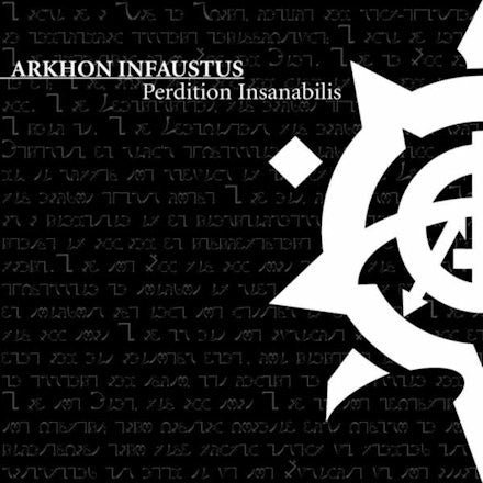 "ARKHON INFAUSTUS ""Perdition Insanabilis"" DigiPak CD"