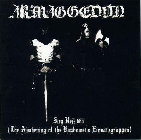 "ARMAGGEDON ""Sieg Heil 666 (The Awakening of the Baphomet's  Einsatzgruppen)"" 12"" LP"
