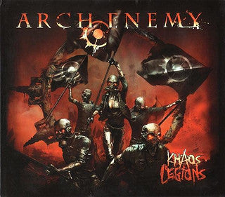 "ARCH ENEMY ""Khaos Legions"" DigiPak 2CD, Deluxe Edition"