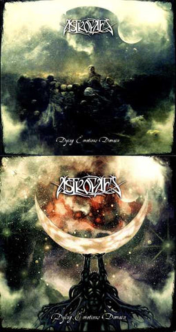 "ASTROFAES ""Dying Emotions Domain"" DigiPak CD"