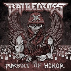 "BATTLECROSS ""Pursuit of Honor"" CD"