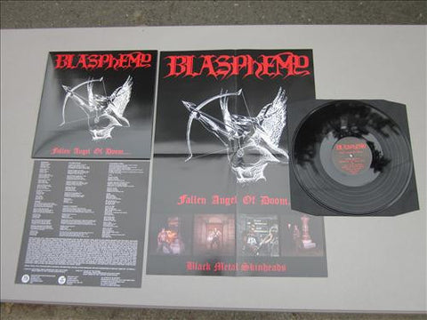 "BLASPHEMY ""Fallen Angel of Doom...."" 12"" LP (Black Vinyl)"
