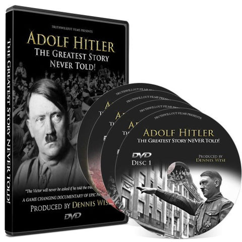 ADOLF HITLER: The Greatest Story Never Told 4-DVD Set