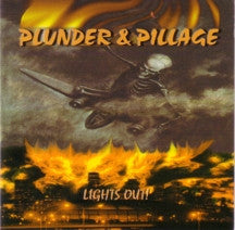 "PLUNDER & PILLAGE ""Lights Out"" 12"" LP"