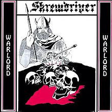 "SKREWDRIVER ""Warlord"" CD"