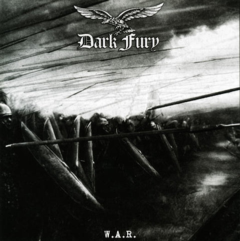 "DARK FURY ""W.A.R."" 12"" LP"