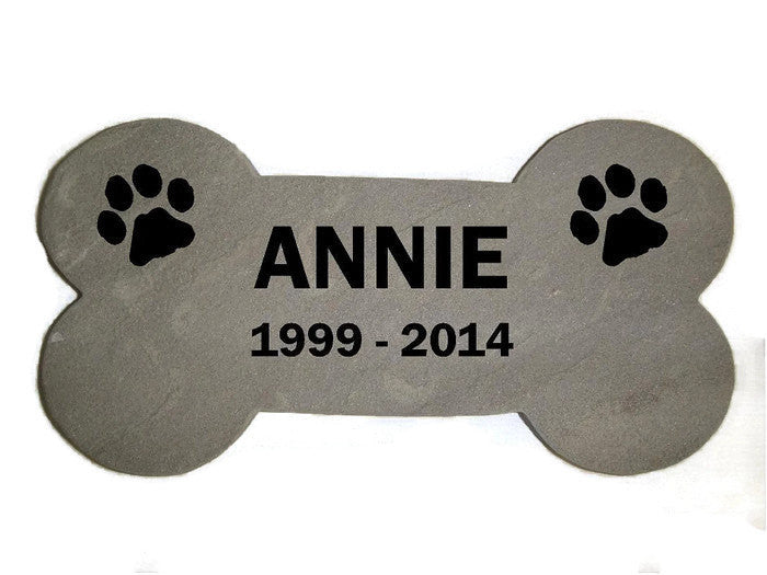 personalized pet memorial garden stepping stone sandblast engraved