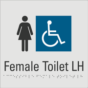 Female Toilet LH