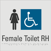 Female Toilet RH