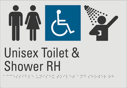 Unisex Toilet & Shower RH