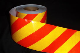 Class 2 Reflective Chevron Tape (per roll)