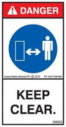 KEEP CLEAR (Vertical)
