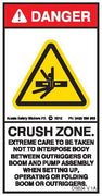 CRUSH ZONE-CONCRETE BOOM PUMP (Vertical)
