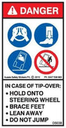 IN CASE OF TIP-OVER OF PLANT (Vertical)