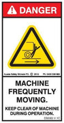 MACHINE FREQUENTLY MOVING (Vertical)
