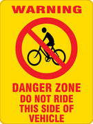 DANGER ZONE-BICYCLE