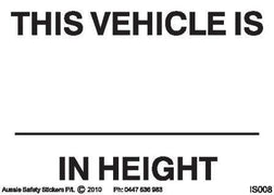 VEHICLE HEIGHT