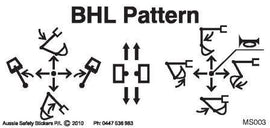 BHL CONTROL LEVER PATTERN