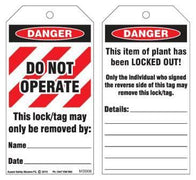 LOCK-OUT/DANGER TAG