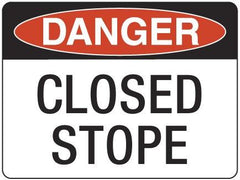 CLOSED STOPE