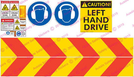 NSW RMS SAFETY DECAL KIT
