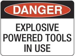 EXPLOSIVE POWERED TOOLS