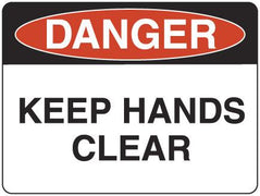 KEEP HANDS CLEAR