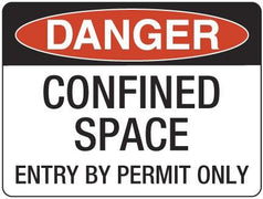 CONFINED SPACE-Entry By Permit Only