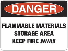 FLAMMABLE MATERIALS STORAGE AREA