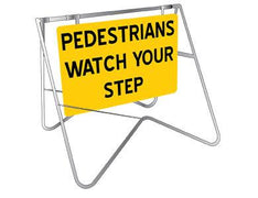 Pedestrians Watch Your Step