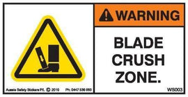 BLADE CRUSH ZONE (Horizontal)