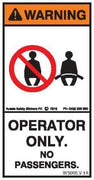 OPERATOR ONLY (Vertical)