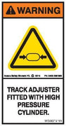 TRACK ADJUSTER FITTED (Vertical)
