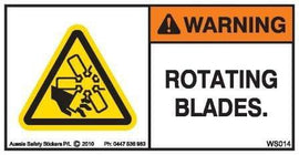 ROTATING BLADES (Horizontal)