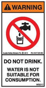 DO NOT DRINK (Vertical)
