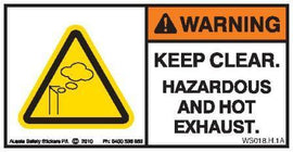 HOT & HAZARDOUS EXHAUST (Horizontal)