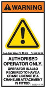 AUTHORISED OPERATOR (Vertical)