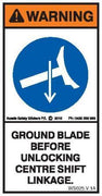 GROUND BLADE (Vertical)