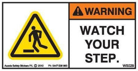 WATCH YOUR STEP (Horizontal)